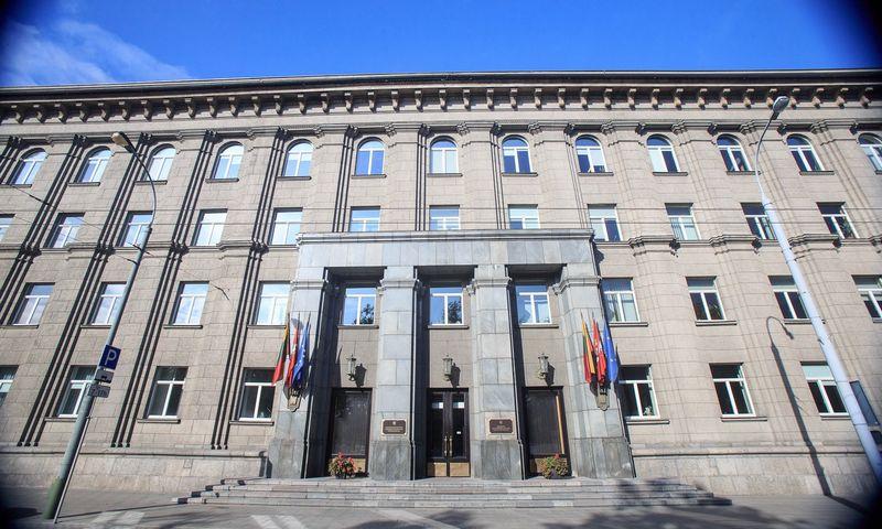 Lietuvos Respublikos Užsienio reikalų ministerijos pastatas. Vladimiro Ivanovo (VŽ) nuotr.