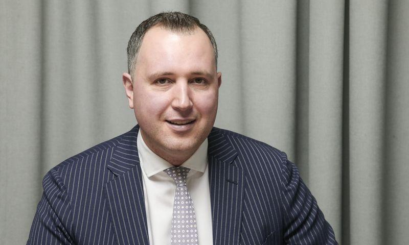 """Mindaugas Mockus,  UAB """"Omberg"""" vadovas. Vladimiro Ivanovo (VŽ) nuotr."""