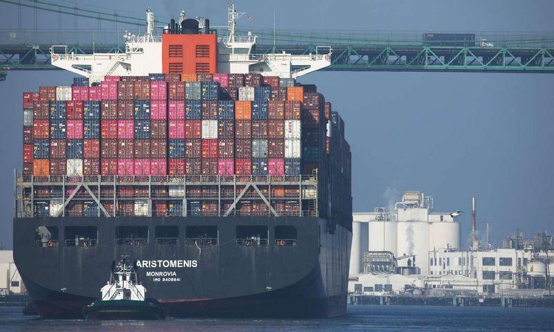 """Los Andželo uostas. Mario Tama (AFP / """"Scanpix"""") nuotr."""