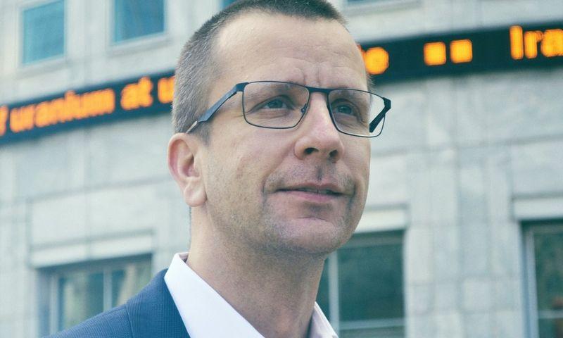 """Įmonės """"Metasite"""" įkūrėjas Aldas Kirvaitis."""