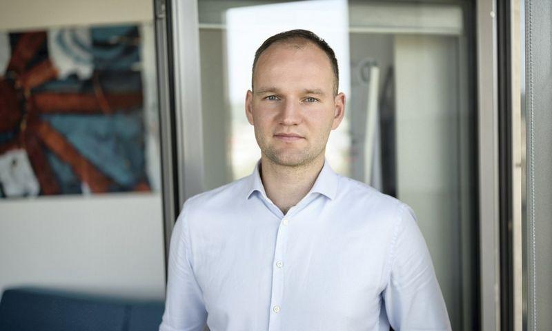 """Lukas Baškys, """"SME Finance"""" pardavimų vadovas."""