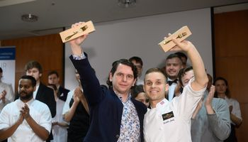 Vyno ir desertų čempionatas: už laimėtojų nugaros – geriausi latvių ir estų restoranai