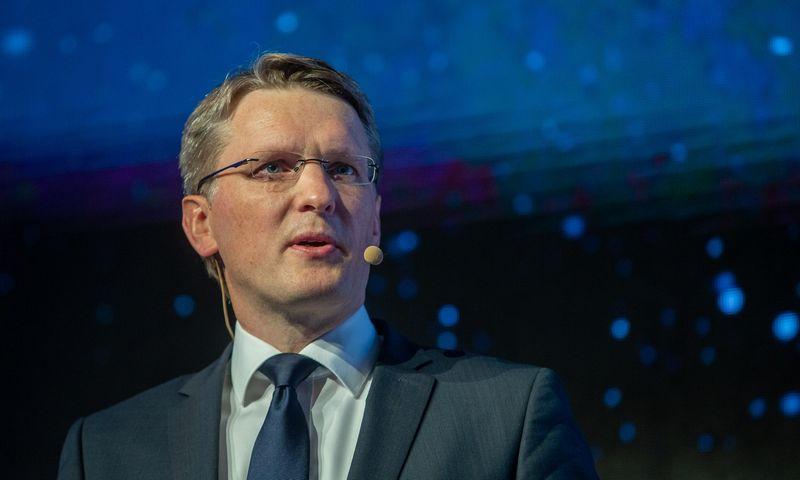 Tomas Garbaravičius, Lietuvos banko valdybos narys. Vladimiro Ivanovo (VŽ) nuotr.