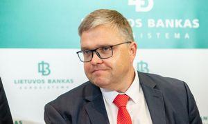 V. Vasiliauskas: konkurencingam valstybiniam komerciniam bankui reikėtų apie 1 mlrd. Eur
