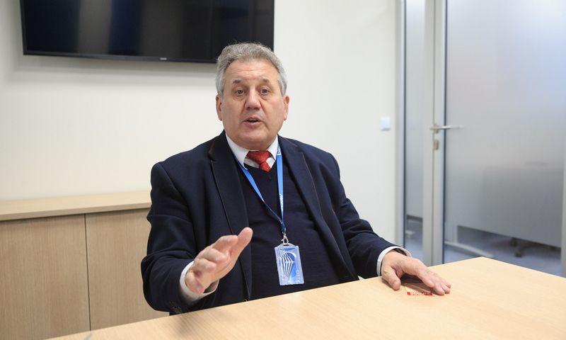"""Dmitrijus Bereščanskis, UAB """"Exadel LT"""" vadovas: """"Exadel"""" turi įmonių Baltarusijoje ar Ukrainoje, kur darbo kaštai pigesni ir plėtra paprastesnė, tačiau mūsų darbu kompanija labai patenkinta."""" Vladimiro Ivanovo (VŽ) nuotr."""