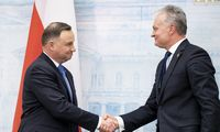 Lietuvos ir Lenkijos prezidentai ragina neskaldyti NATO
