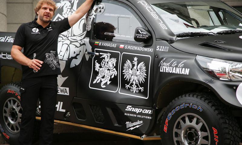 Svarbų rėmėją netikėtai praradęs Benediktas Vanagas šiemet gali nepasirodyti Dakaro lenktynėse. Vladimiro Ivanovo (VŽ) nuotr.