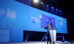 D. Tuskas tapo Europos liaudies partijos lyderiu