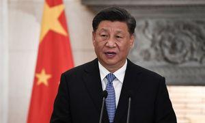 """Xi Jinpingas: Kinija nori prekybos susitarimo su JAV, bet, jei reikės, """"duos atkirtį"""""""