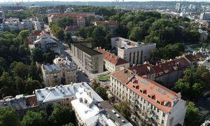 Pakoregavo Vilniaus Centro poliklinikos naujo korpuso projektą