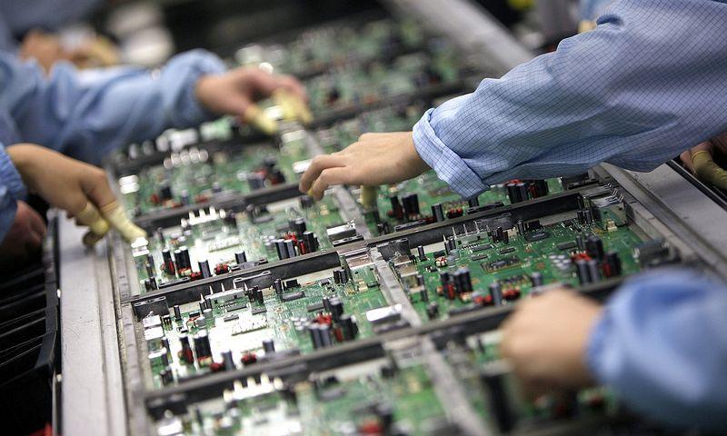 """Viena stambiausių Vokietijoje elektronikos komponentų gamintojų """"Leesys"""" vis dar laiko save startuoliu. Tyrone'o Siu  (""""Reuters"""" / """"Scanpix"""") nuotr."""