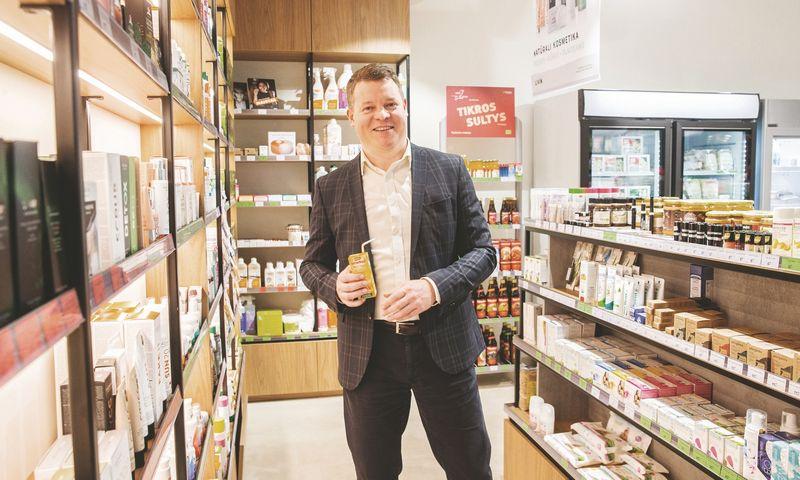 """Bernardas Tautkus, UAB """"Bio Sala"""", valdančios prekės ženklą """"Livin"""", direktorius. Juditos Grigelytės (VŽ) nuotr."""