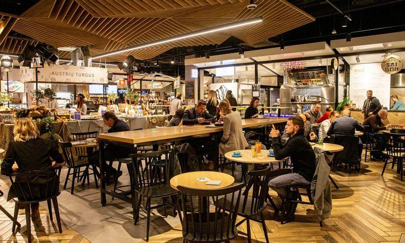 """Šiuo metu Vilniuje veikia 7 maisto halės. Nuotraukoje gastronomijos namai """"Gourmet Panorama"""". Juditos Grigelytės (VŽ) nuotr."""