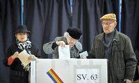 Rumunija balsuoja antrajame prezidento rinkimų rate