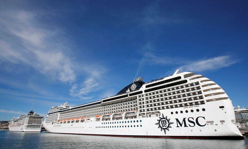 "Kruizinis laivas ""MSC Poesia"". Jeano-Paulio Pelissier (""Reuters"" / ""Scanpix"") nuotr."
