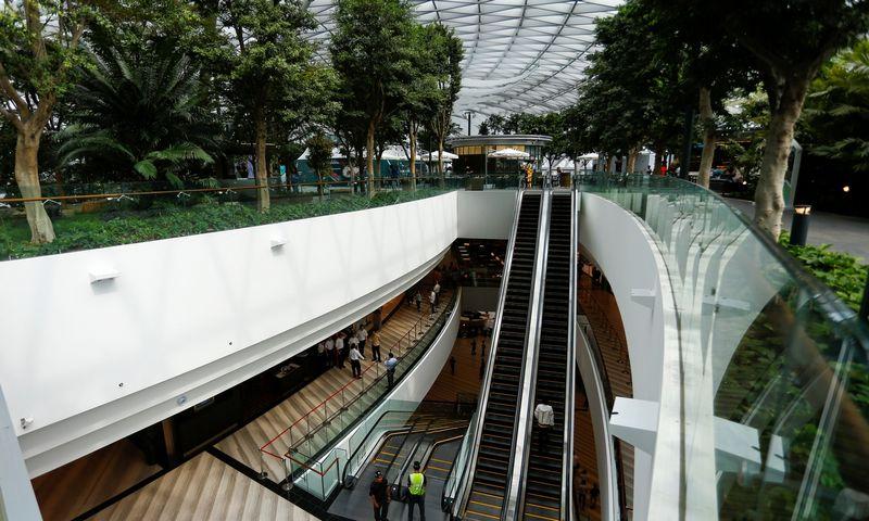 """Singapūro Čiango oro uostas. Feline Lim (""""Reuters""""/""""Scanpix"""") nuotr."""