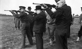 Iliustruotoji istorija: beviltiška Churchillio pajėgų misija