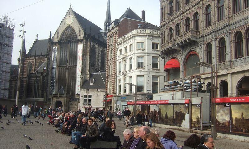 Olandija, Amsterdamas. Rasos Dževeckytės (VŽ) nuotr.