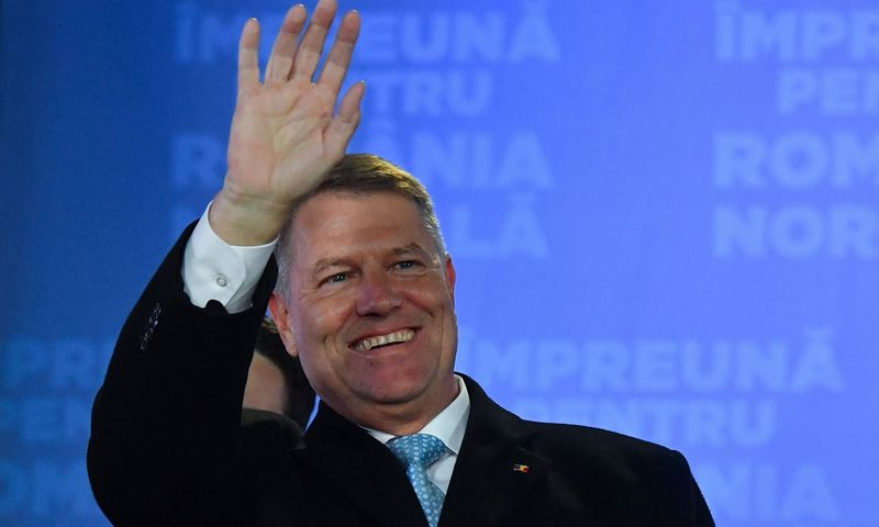 """Rumunijos prezidentas Klausas Iohannis. Danielio Mihailescu (AFP / """"Scanpix"""") nuotr."""