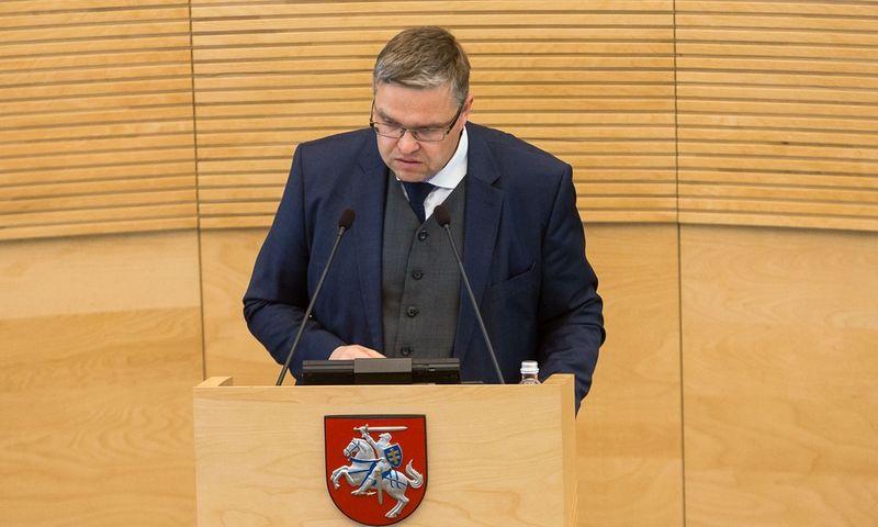 Vitas Vasiliauskas, Lietuvos banko valdybos pirmininkasVladimiro Ivanovo (VŽ) nuotr.