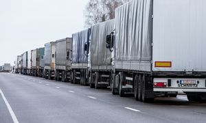 Trečiadienį Vilniuje – protestuojančių vežėjų vilkstinė