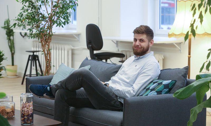 """""""Delfi TV"""" plėtros vadovo pareigas nuo kitos savaitės pradeda eiti Mykolas Markauskas, neseniai pasitraukęs iš internetinės televizijos """"Laisvės TV"""" vadovo kėdės. Vladimiro Ivanovo (VŽ) nuotr."""