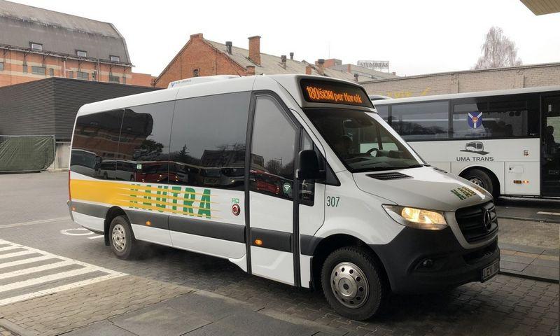 """Naujas, 20 vietų """"Kautros"""" autobusas. Įmonės nuotr."""