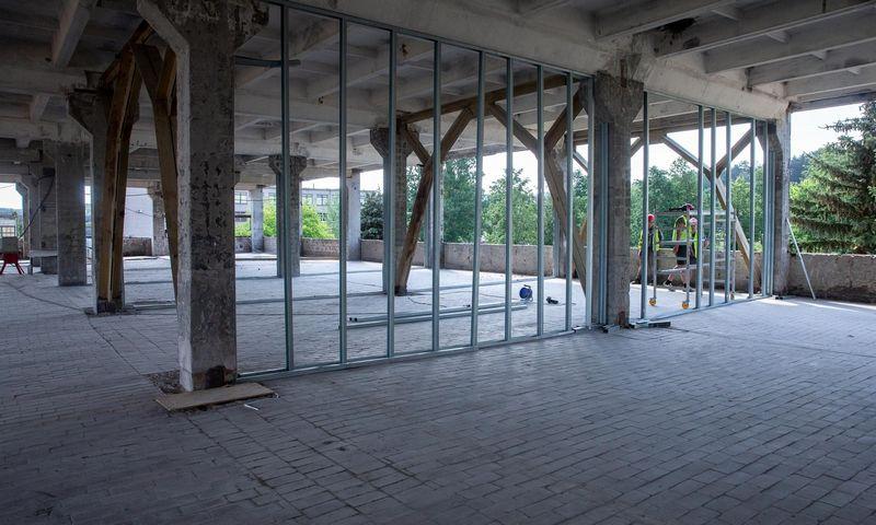 """Nekilnojamojo turto projektų vystytojo """"Baltic Asset Management"""" loftų projektas """"Freiheit"""" Vilniuje. Juditos Grigelytės (VŽ) nuotr."""