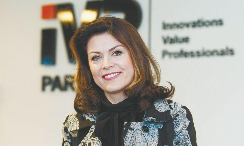 """""""IVP Partners"""" pardavimų projektų vadovė Rasa Kulyčienė."""