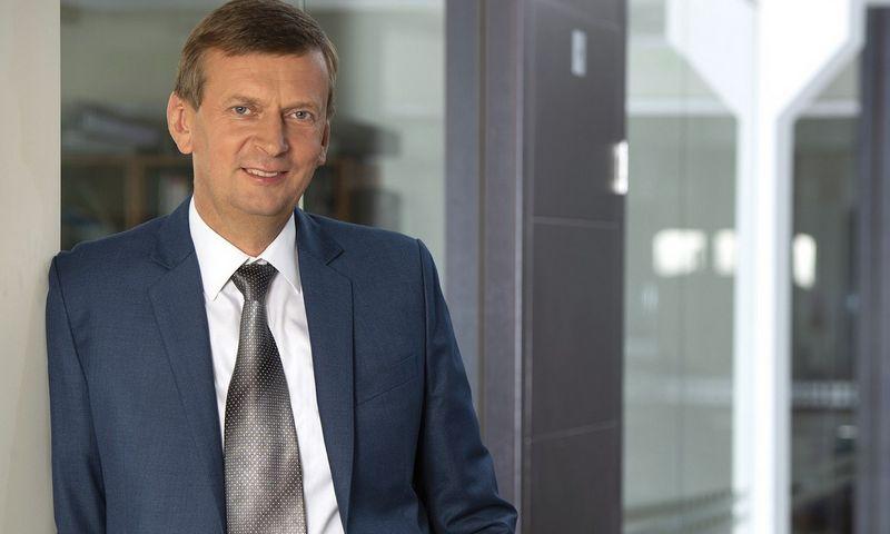 """""""Rivonos"""" generalinis direktorius, """"Norfos"""" įmonių grupės savininkas Dainius Dundulis."""