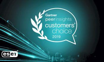 ESET suteiktas išskirtinis klientų įvertinimas 2019 m. Gartner apdovanojimuose