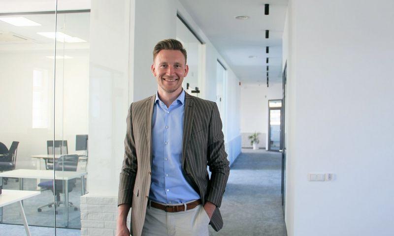 """Paulius Jauga, """"Factris LT1"""" vykdomasis direktorius Lietuvoje."""