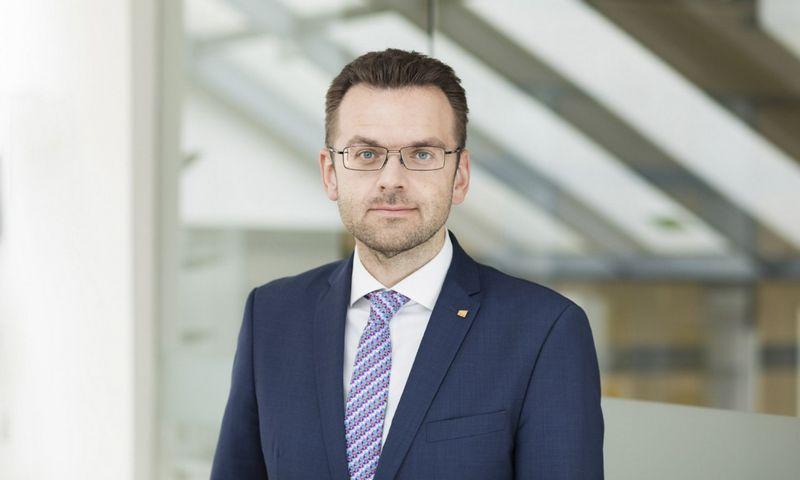 """Profesinių paslaugų bendrovės """"EY"""" partneris Irmantas Misiūnas."""
