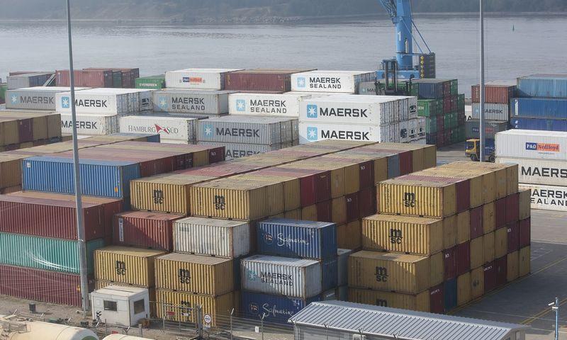 Klaipėdos uoste sausį–spalį generalinių krovinių buvo gabenta 3,9% mažiau nei prieš metus, kiti krovinių segmentai augo. Vladimiro Ivanovo (VŽ) nuotr.