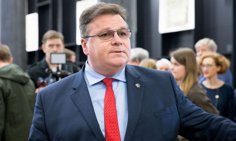Linas Linkevičius, Lietuvos užsienio reikalų ministras. Juditos Grigelytės (VŽ) nuotr.
