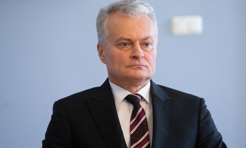 Gitanas Nausėda, Lietuvos prezidentas. Vladimiro Ivanovo (VŽ) nuotr.