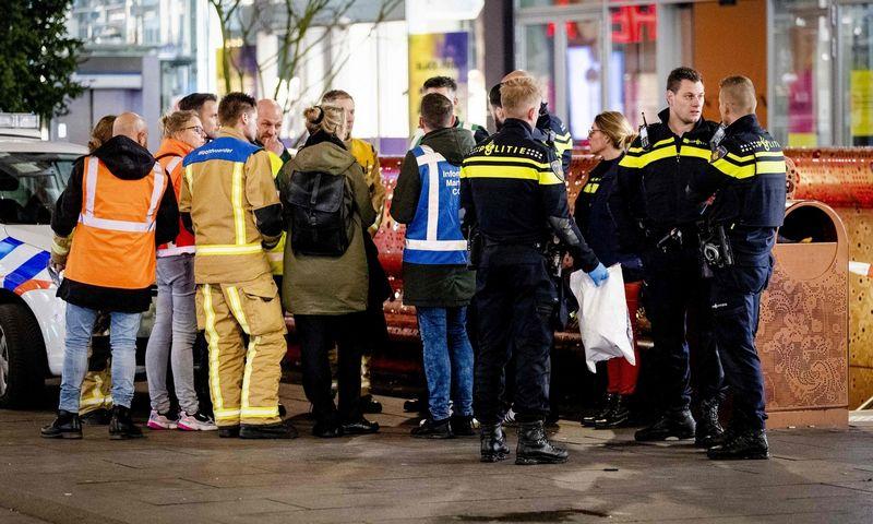 Išpuolis Hagoje, (Scanpix, APN/AFP/Van der Wal nuotr.)