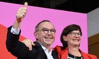 Vokietijos socialdemokrataiišsirinko kairiojo sparno lyderius