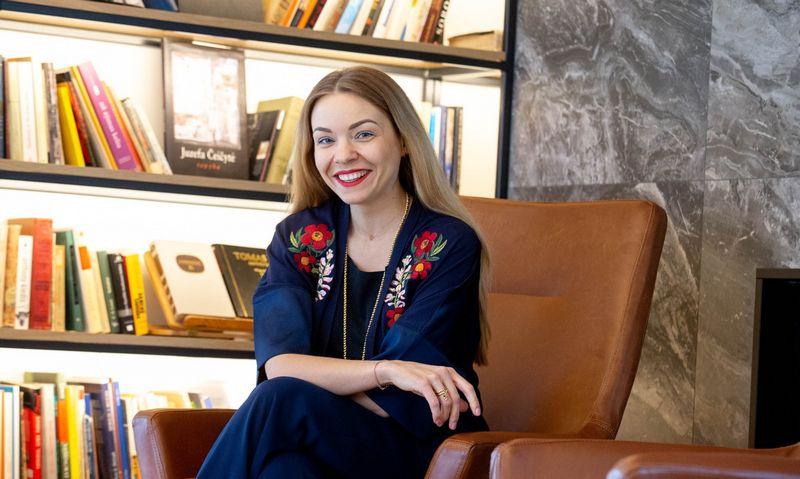 Marija Mikalauskienė, viešojo kalbėjimo trenerė. Juditos Grigelytės (VŽ) nuotr.