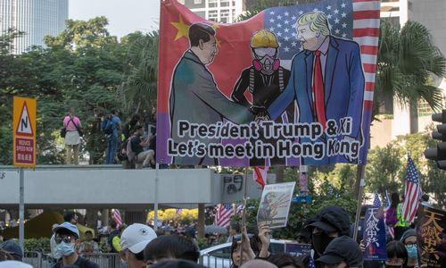 JAV ir Kinijos prekybos susitarime nauja kliūtis – Honkongas
