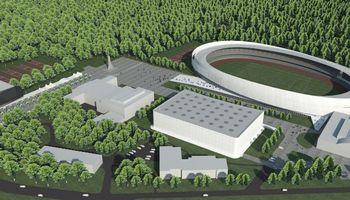 Pabrango Kauno sporto halės ir stadiono rekonstrukcijos