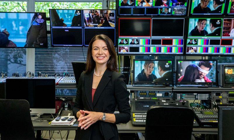 Laura Blaževičiūtė, TV3 generalinė direktorė. Juditos Grigelytės (VŽ) nuotr.