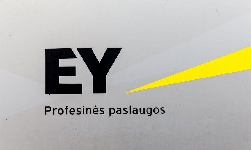 """Audito, teisinių paslaugų, verslo konsultacijų UAB """"Ernst & Young Baltic"""" biuras Vilniuje, Subačiaus g. 7. Vladimiro Ivanovo (VŽ) nuotr."""