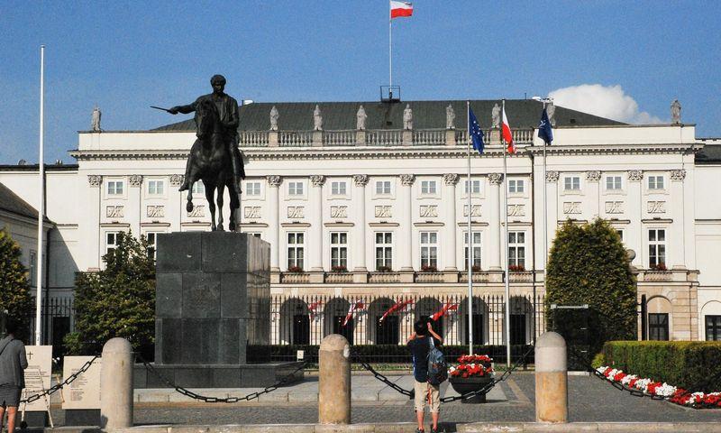 Varšuva, Lenkijos sostinė. Juditos Grigelytės (VŽ) nuotr.