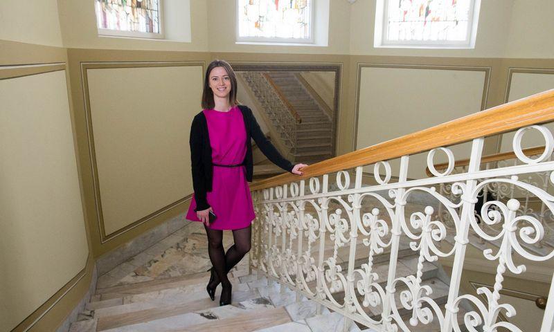 Jekaterina Govina, Lietuvos banko (LB) Priežiūros tarnybos direktorė. Juditos Grigelytės (VŽ) nuotr.