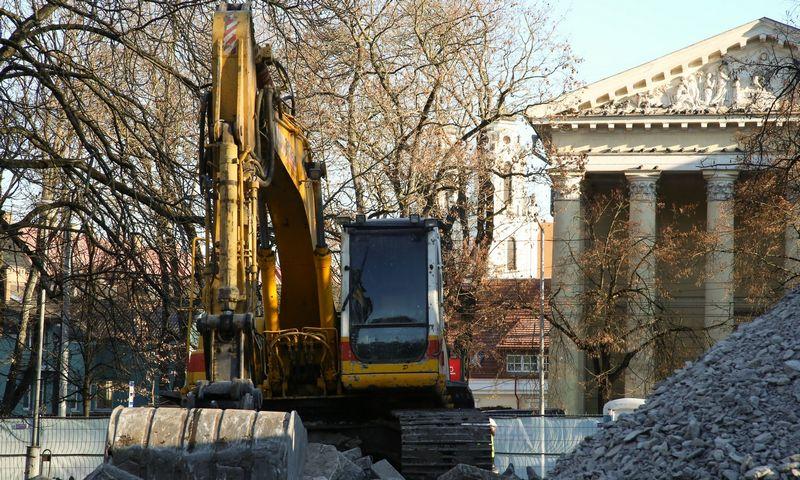 Reformatų sodo rekonstrukcija ir archeologiniai tyrimai, 2018 m. Vladimiro Ivanovo (VŽ) nuotr.
