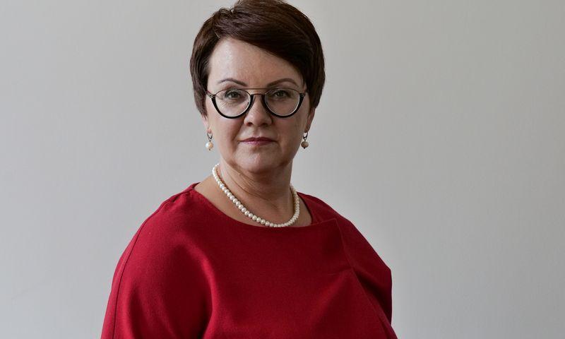 Edita Janušienė, Valstybinės mokesčių inspekcijos vadovė. Vladimiro Ivanovo (VŽ) nuotr.