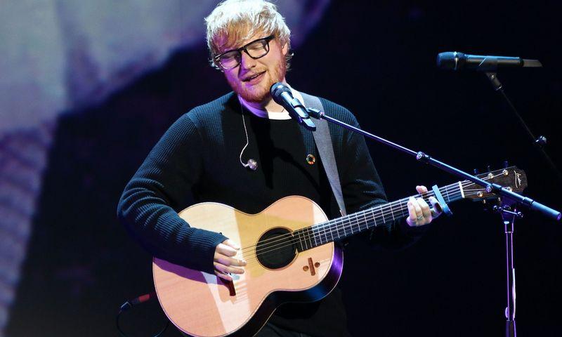 """Edo Sheerano """"Shape of You"""", perklausyta  2,4 mlrd. kartų, tapo klausomiausia dešimtmečio daina. (""""PBG""""/""""Scanpix"""") nuotr."""