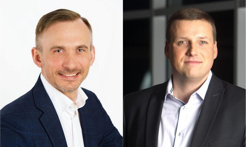 Saulius Batavičius (kairėje) ir Artūras Stankevičius. VŽ koliažas.