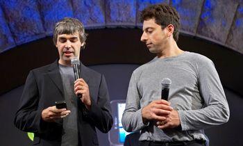 """""""Google"""" įkūrėjai traukiasi iš """"Alphabet"""" vadovų"""